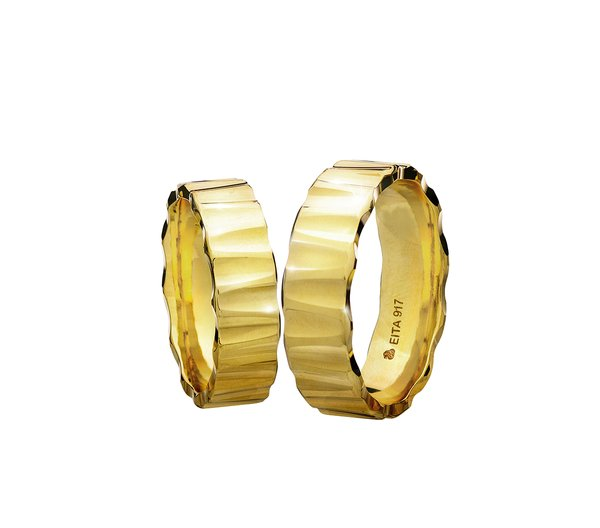EITA Collection 917 Yellow Gold Wedding Ring C1-04