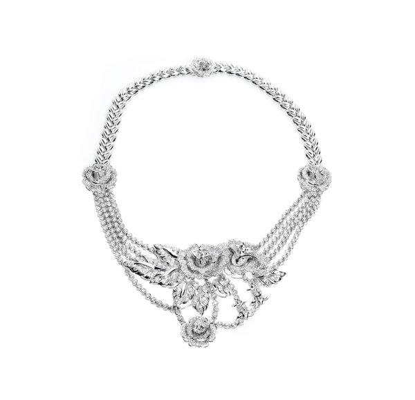 Platinum 900 Diamond Necklace D3-001