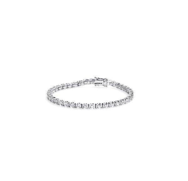 750 White Gold Diamond Bracelet 3FB00704