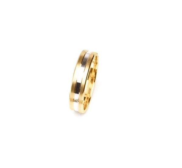 EITA Collection 917 Yellow/White Gold Wedding Ring B2-10