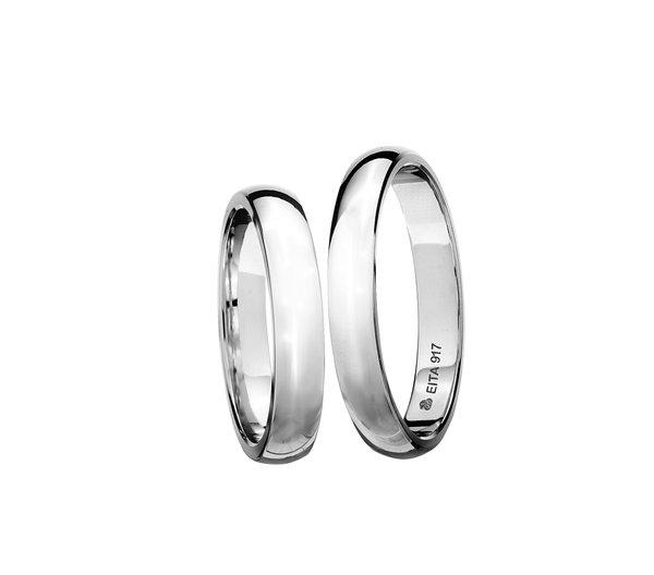EITA Collection 917 White Gold Wedding Ring C1-07