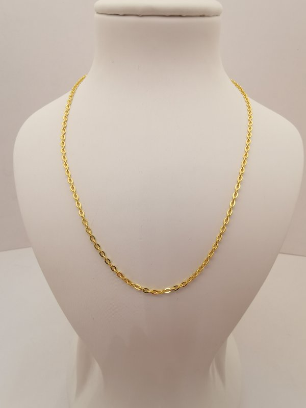999 Pure Gold POLO Necklace