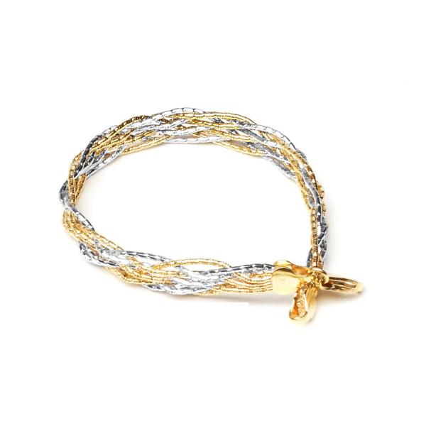 EITA Collection 917 Yellow/White Gold Bracelet K-37