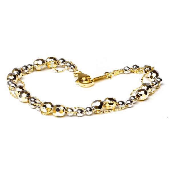 EITA Collection 917 Yellow/White Gold Bracelet K-54