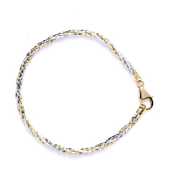 EITA Collection 917 Yellow/White Gold Bracelet K-38