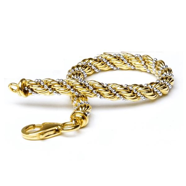 EITA Collection 917 Yellow/White Gold Bracelet K-16
