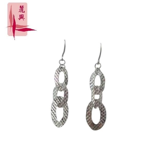 18K White Gold Earrings 3YM00307