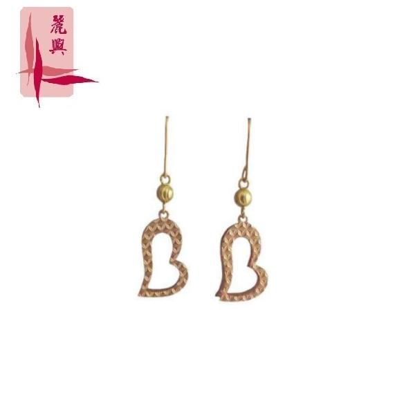 18K Rose Gold Earrings 3YM01059