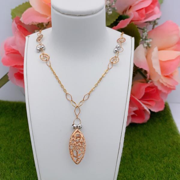 18K Rose Gold Necklace 3YM01101