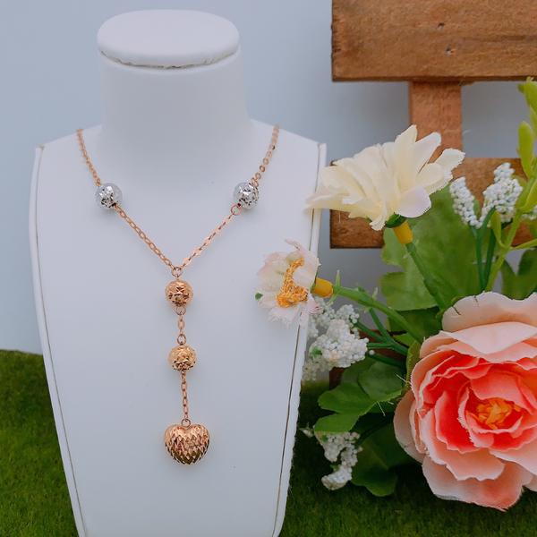 18K Rose Gold Necklace 3YM01102