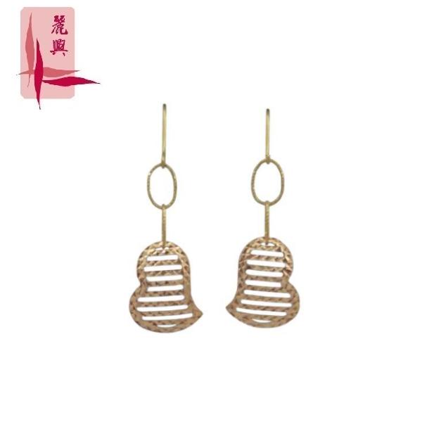 18K Rose Gold Earrings 3YM01137