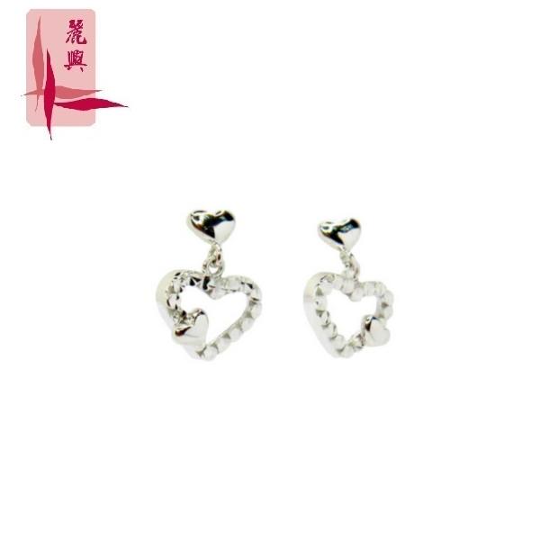 18K White Gold Earrings 3YM02457