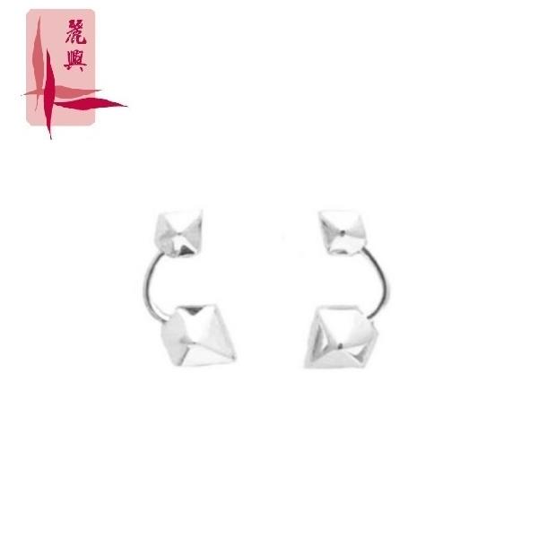 18K White Gold Earrings 3YM02477