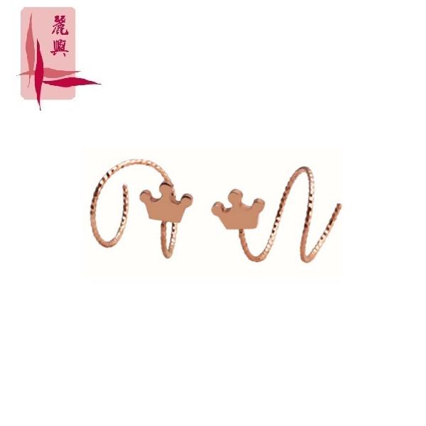 18K Rose Gold Ear Hook 3YM02511