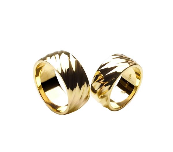 EITA Collection 917 Yellow Gold Wedding Ring D-09 RING
