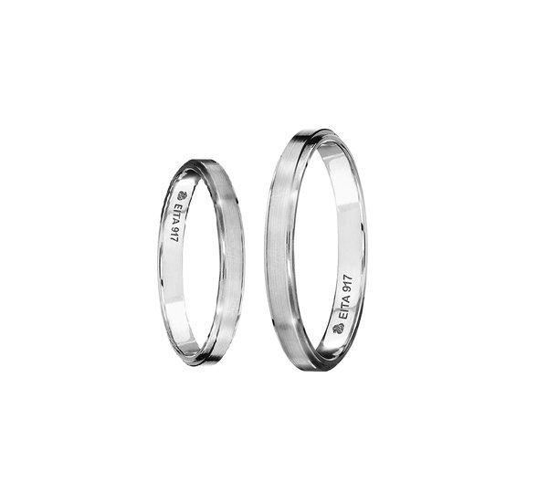 EITA Collection 917 White Gold Wedding Ring S-01