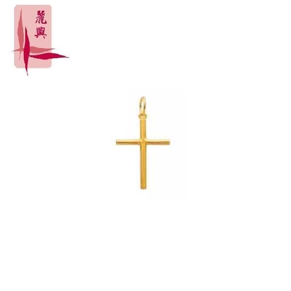 916 Gold Cross Pendant