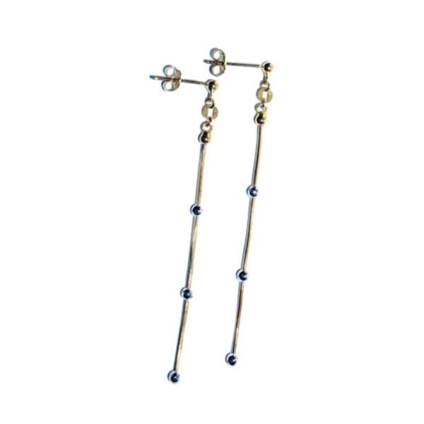 EITA Collection 917 Yellow/White Gold Dangling Earring 3HE00816