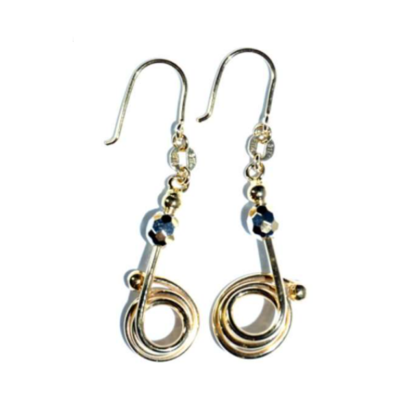 EITA Collection 917 Yellow/White Gold Ear Hook 3HE02335