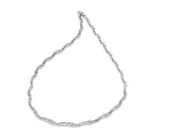 EITA Collection 917 White Gold Necklace K-43