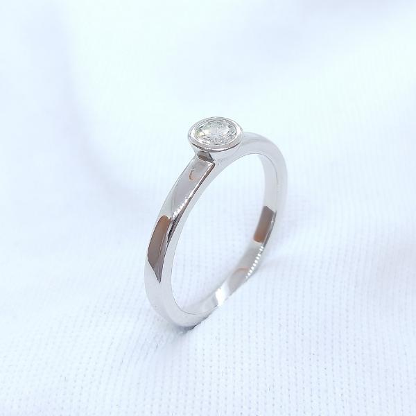 18K White Gold Diamond Ring 3DR00135