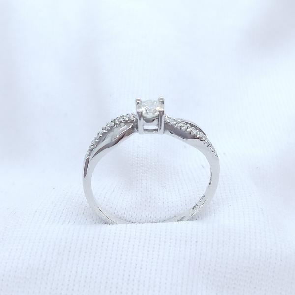 18K White Gold Diamond Ring 3DR00139