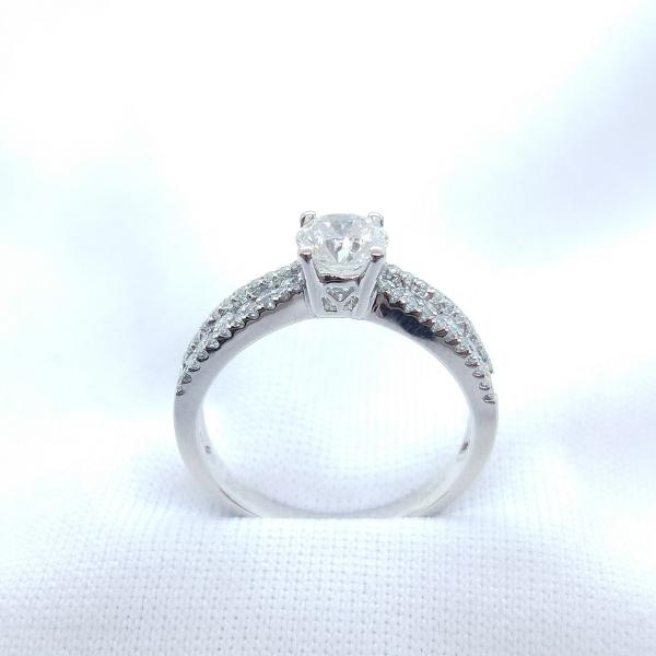 18K White Gold Diamond Ring 3DR00522