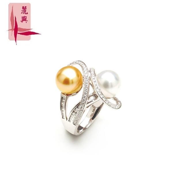 18K White Gold Ring 3MR00026