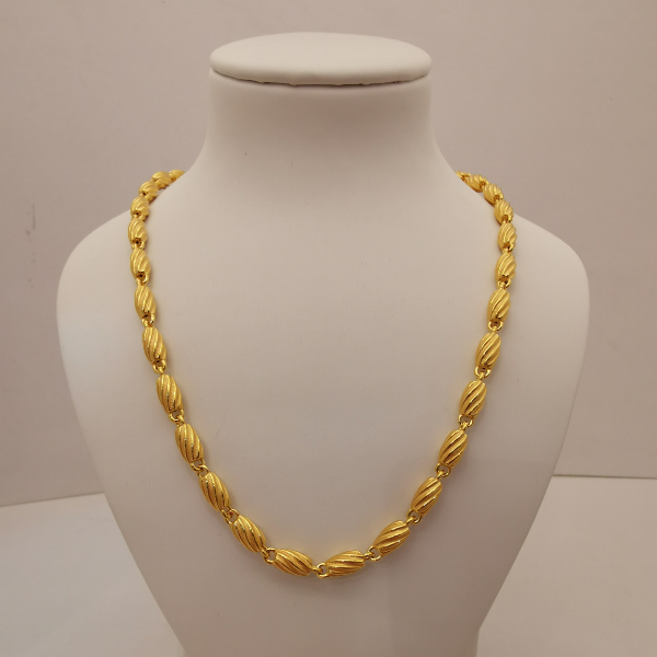 999 Pure Gold Necklace 3PN00438