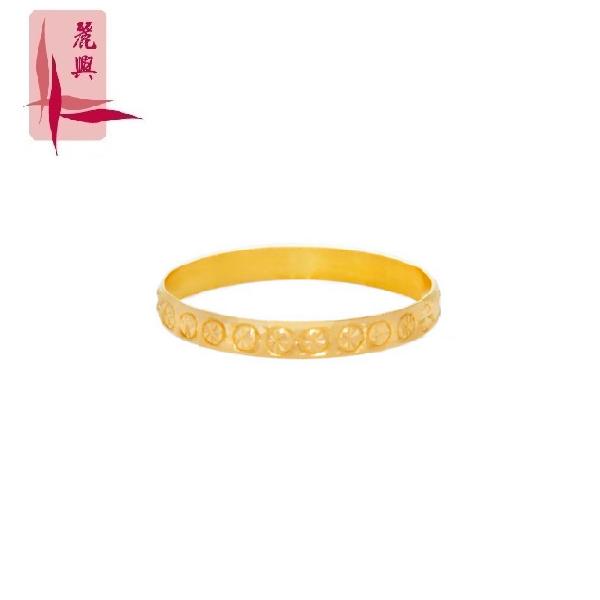 916 Gold Cutting Ring 0.2cm